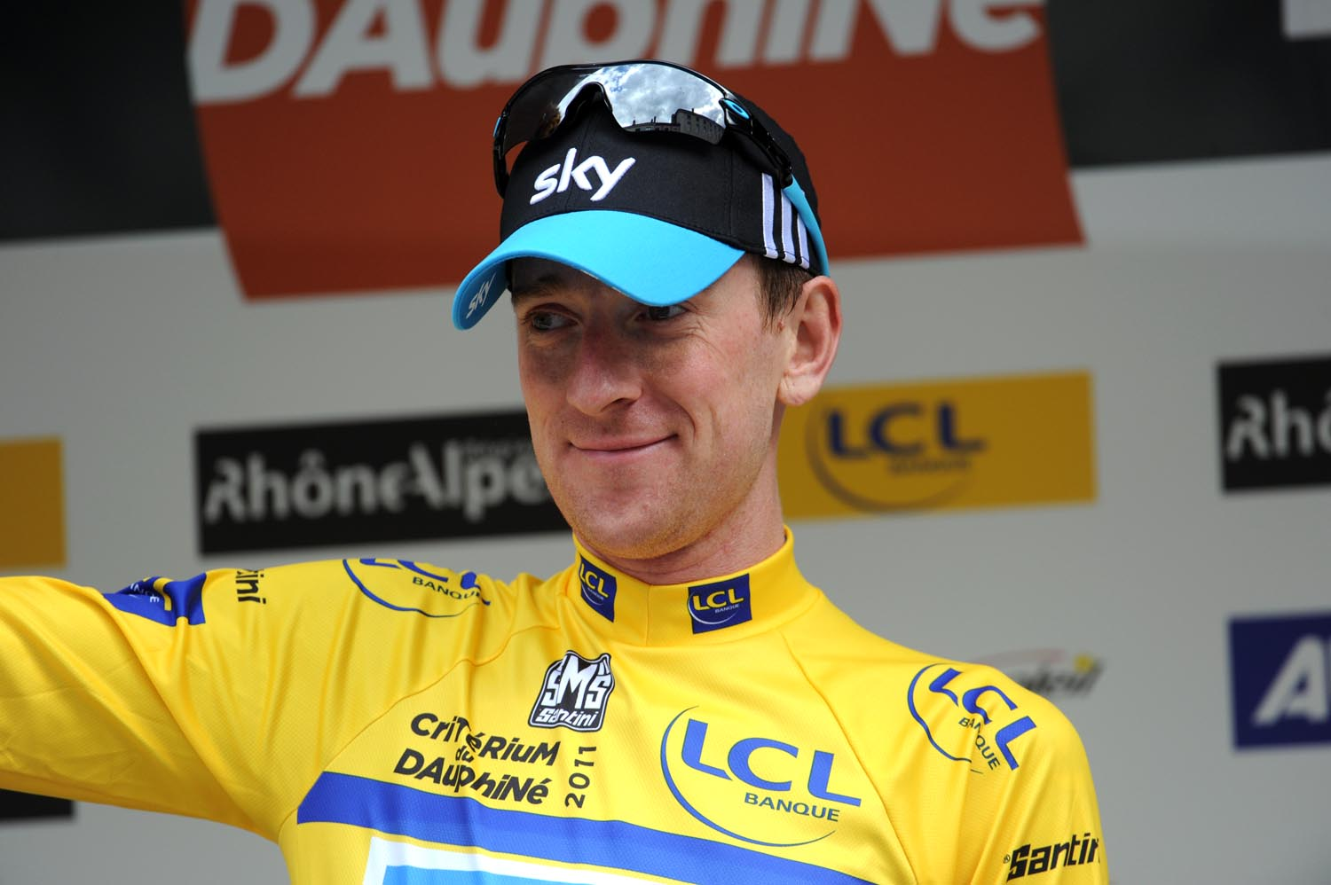 Bradley Wiggins continues in race lead, Criterium du Dauphine 2011, stage four