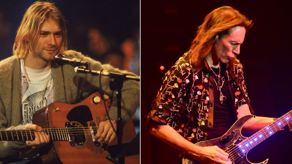 """Steve Vai calls Kurt Cobain's guitar playing """"virtuosic"""""""