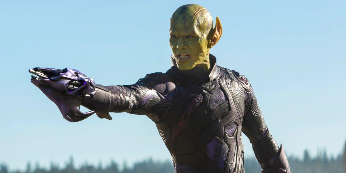 A Skrull from MCU's Captain Marvel movie