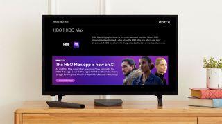 HBO Max on Comcast Xfinity X1