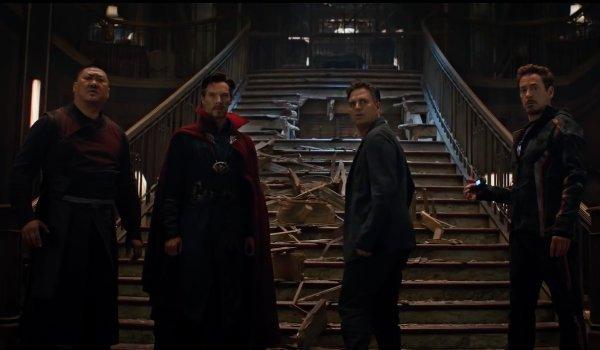 Stark Banner Doctor Strange Sanctum Sanctorum Wong