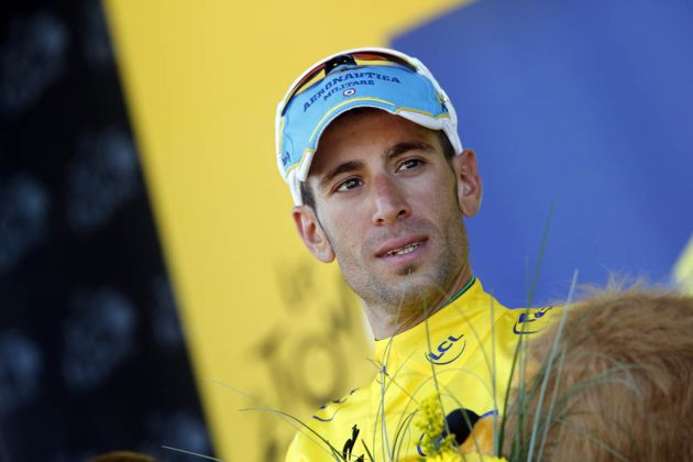 Vincenzo Nibali on stage fourteen of the 2014 Tour de France