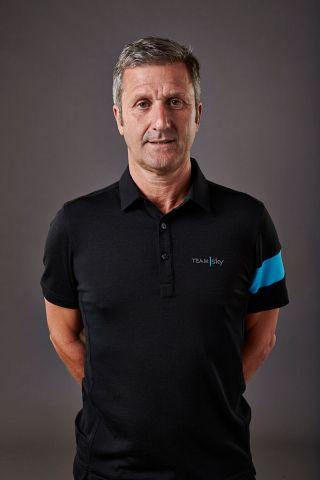 Former Team Sky doctor Richard Freeman in a 2014 team photoshoot