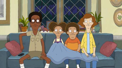 "The Tillerman family in ""Central Park""."