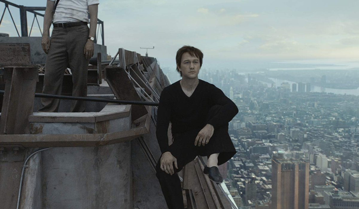 The Walk Joseph Gordon-Levitt looks out at the other tower