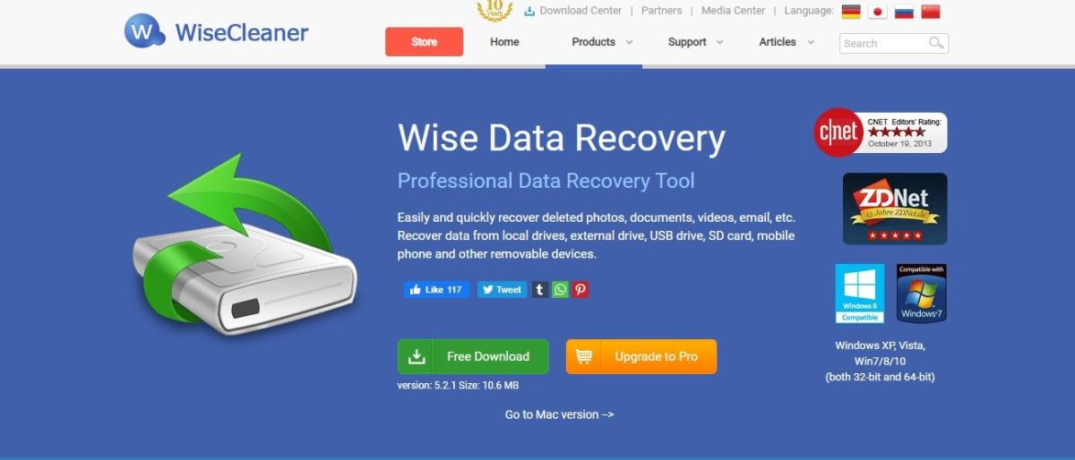 Wise Data Recovery Free review