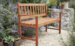 Save £20 on this two-seater model in the Argos garden bench sale