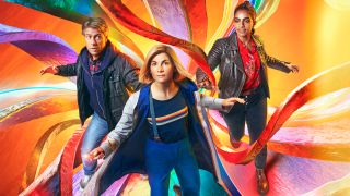 Doctor Who Season 13 - promo image for Doctor Who: Flux