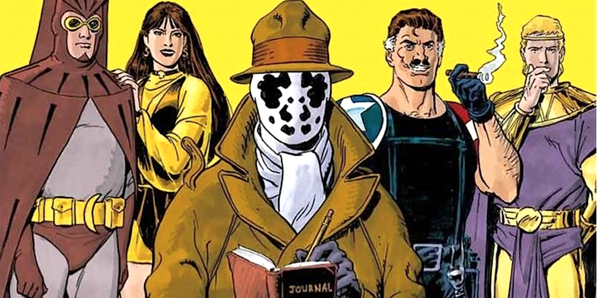 watchmen cover team lineup