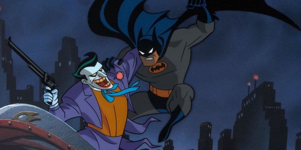 Batman and Joker in Batman: The Animated Series