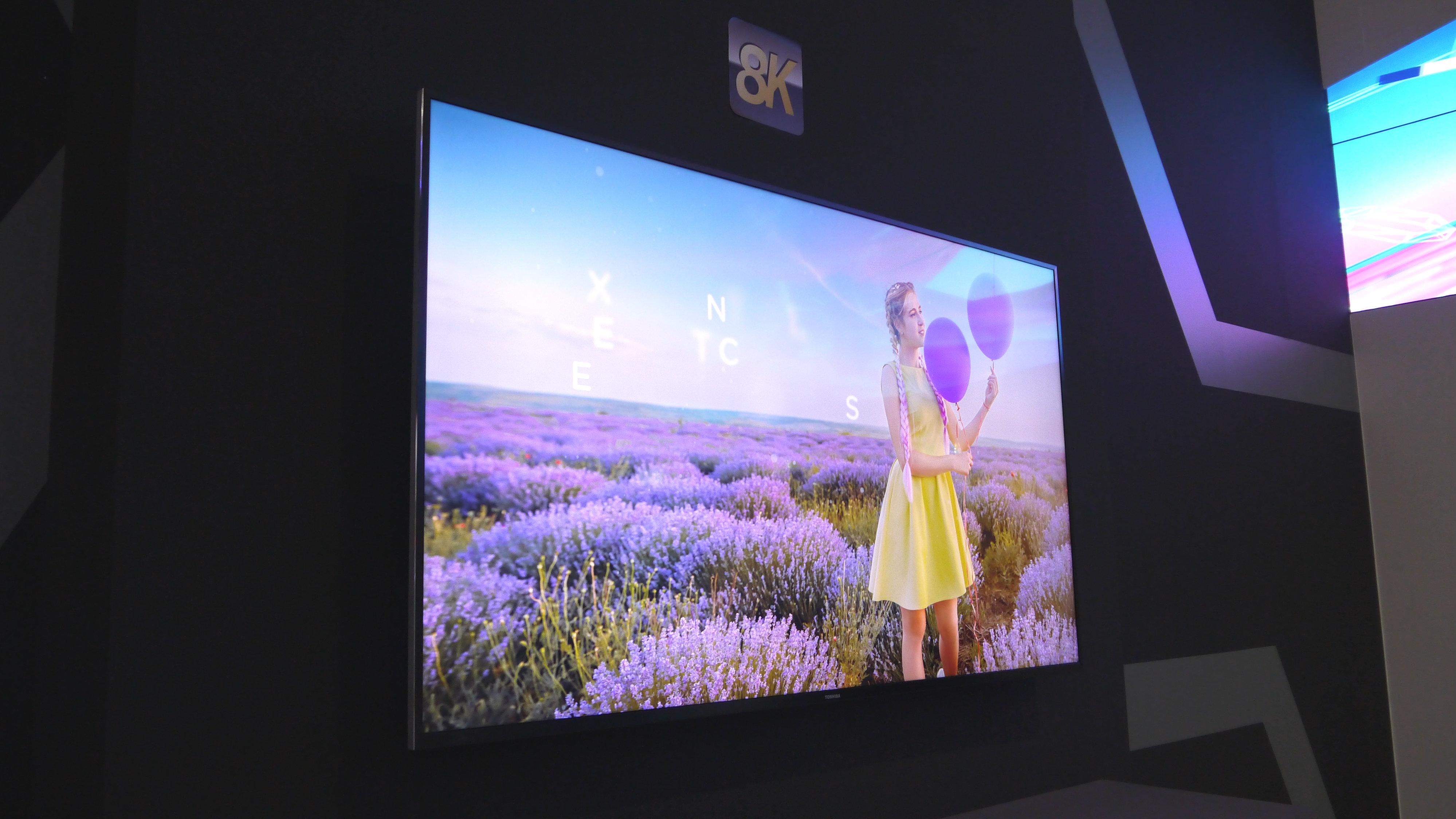 Toshiba Teases 8k Tv On A Budget Techradar