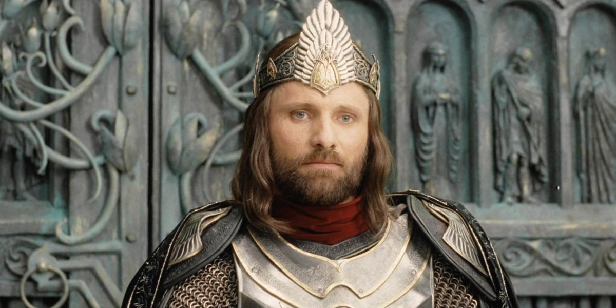 King Aragorn The Lord of the Rings The Return of the King Viggo Mortensen