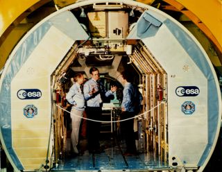 space history, nasa, spacelab