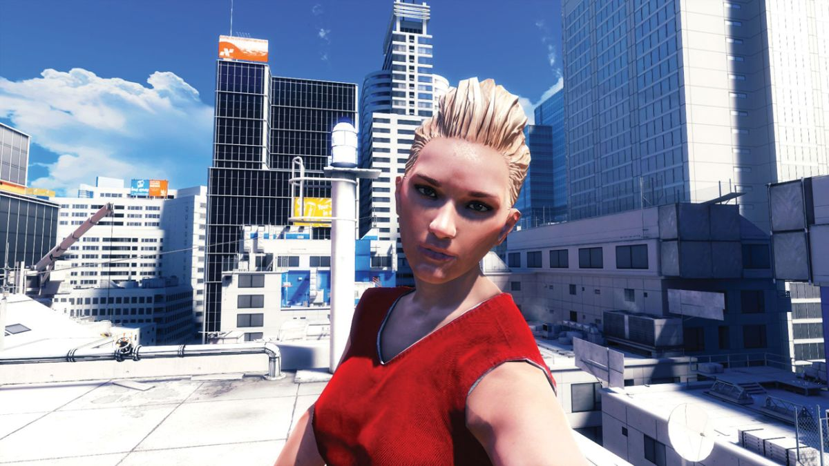 Picking every fight in Mirror's Edge, part 1