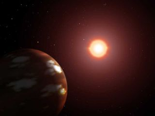 artist conception of exoplanet