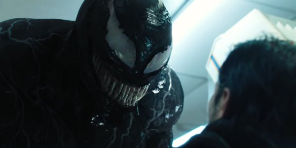 Venom symbiote robbery scene