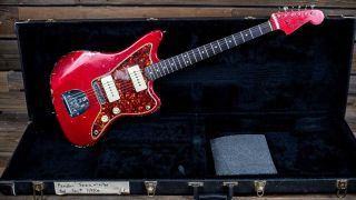 Chris Cornell's 1966 Fender Candy Apple Red Jazzmaster Guitar