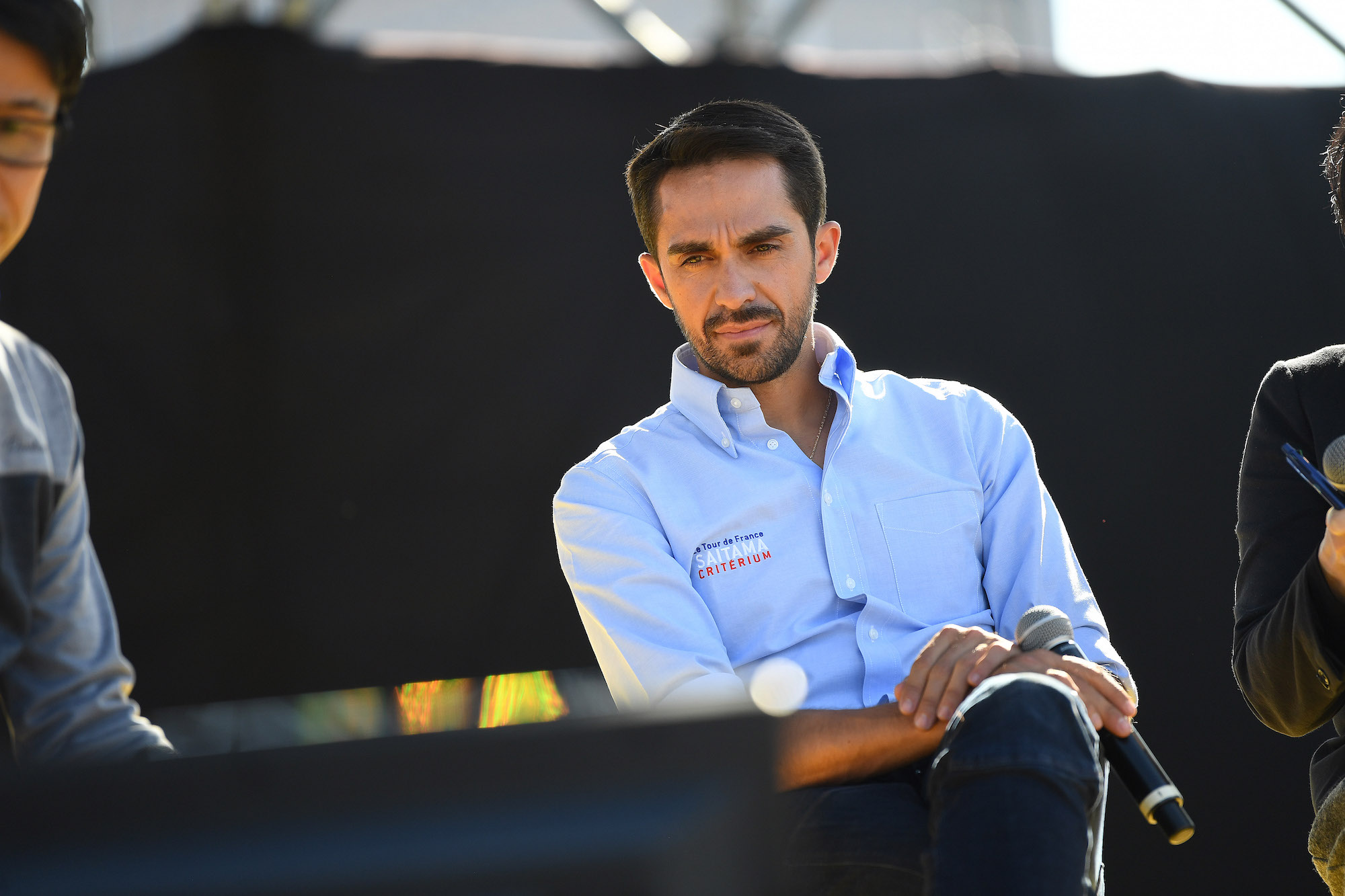 Alberto Contador hospitalised with fever and stomach problems