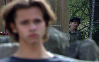 Maya Stepney spies on Jacob in Emmerdale