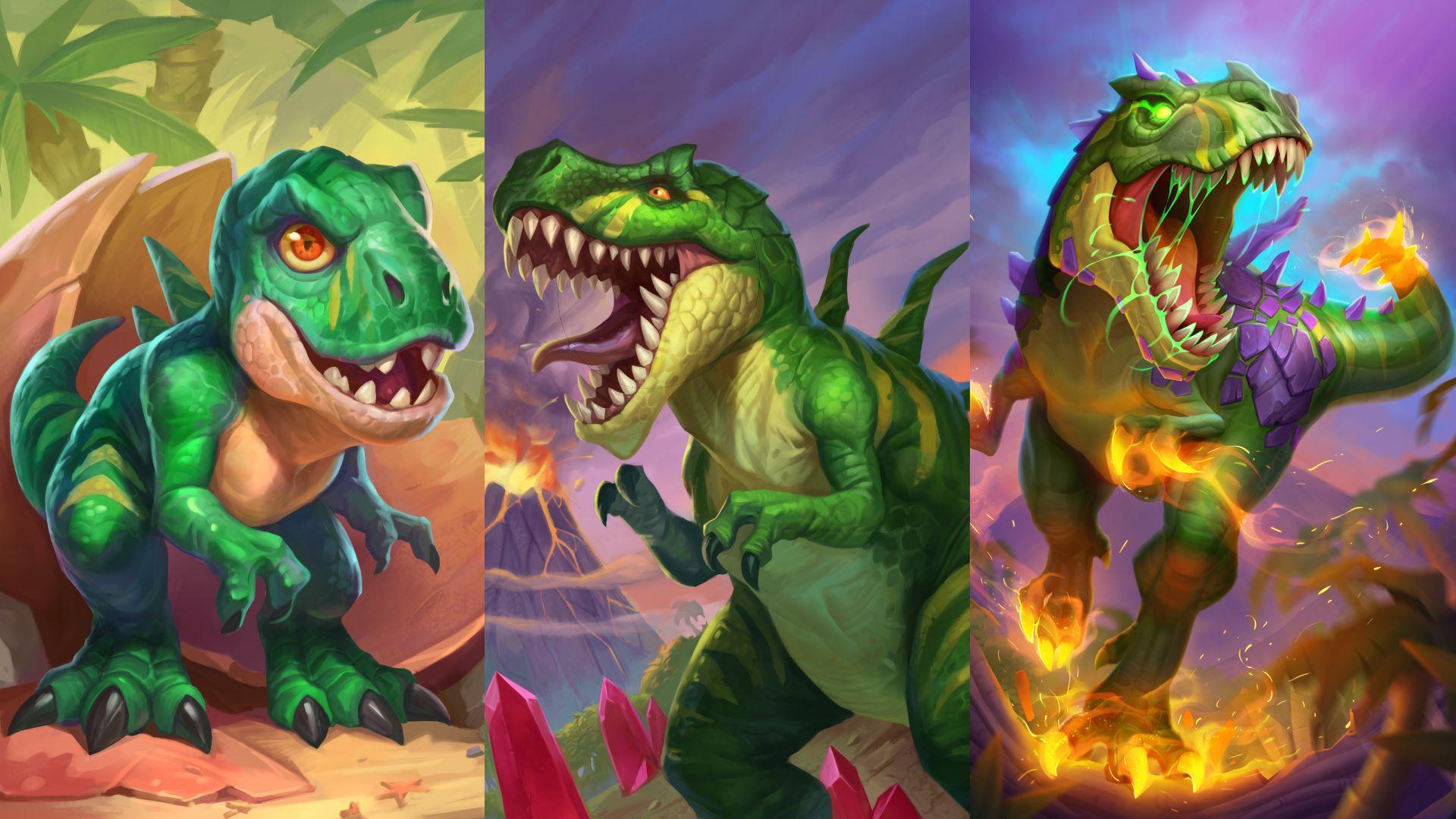King Krush the devilsaur grows up