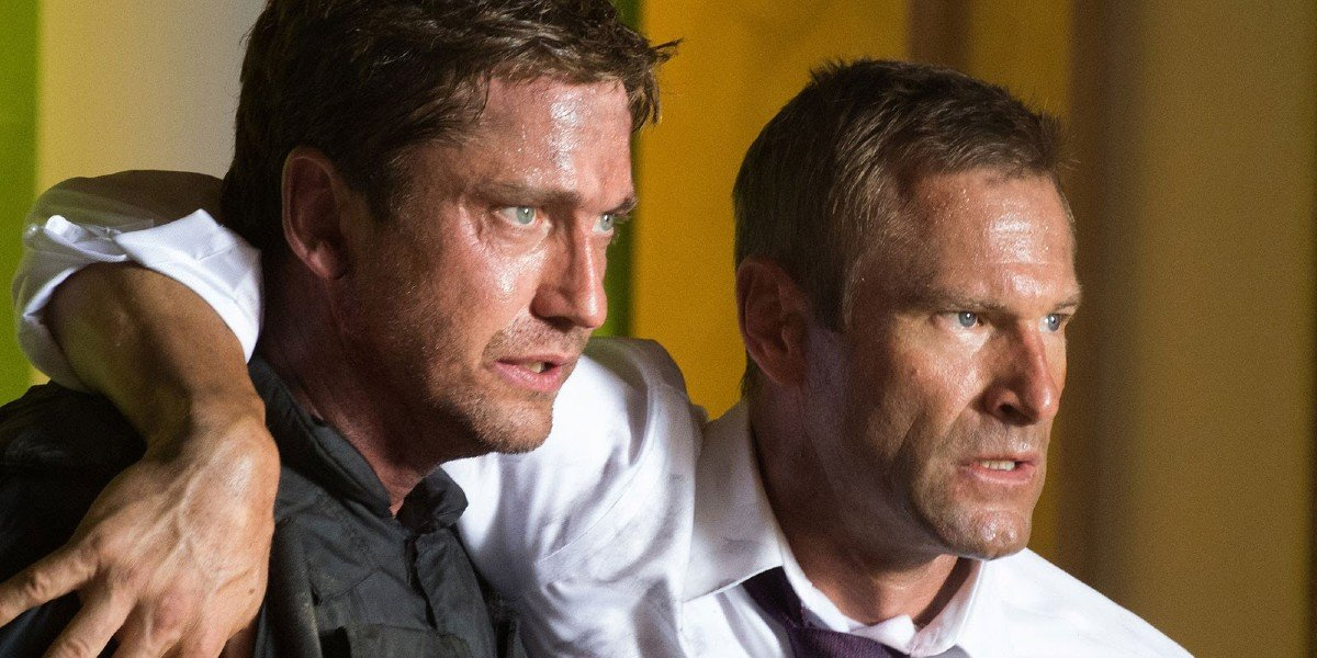 Gerard Butler, Aaron Eckhart - London Has Fallen