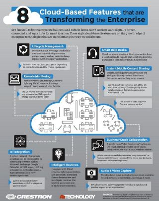 8 Cloud-Based Features that are Transforming the Enterprise [INFOGRAPHIC]