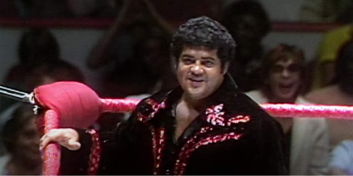 Pedro Morales at a WWE event