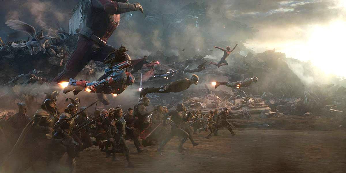 Avengers: Endgame final battle against Thanos