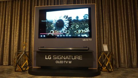 Hands on: LG OLED W8 Signature Series review