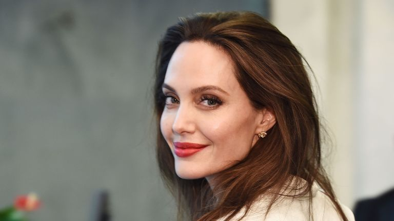 Actress and Special Envoy to the United Nations High Commissioner for Refugees Angelina Jolie visits The United Nations on September 14, 2017 in New York City
