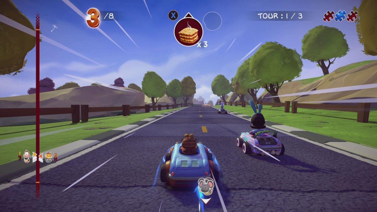 Garfield Kart Furious Racing Is Purring Onto Pc This November Pc Gamer