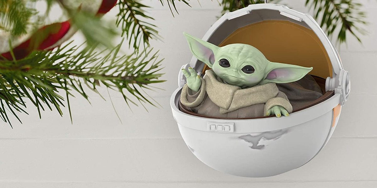 Mandalorian Baby Yoda Christmas Tree Ornament