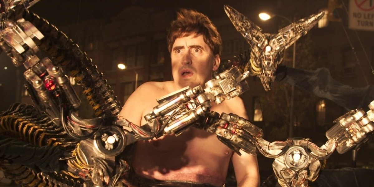 Alfred Molina as Doctor Octopus in Spider-Man 2