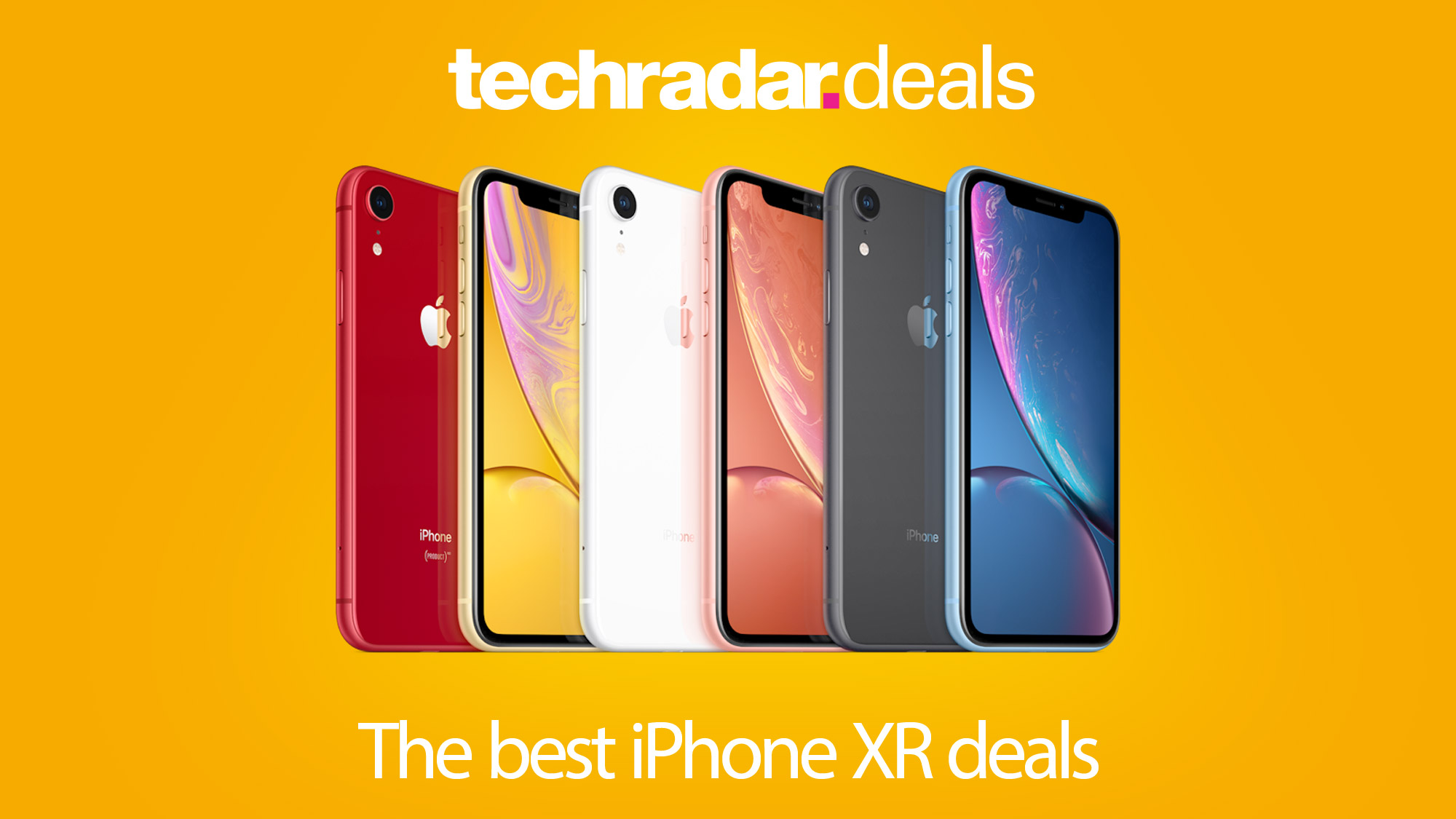 Iphone Xr Deals Get The Best Prices And Deals For Black Friday And Cyber Monday 2020 Techradar