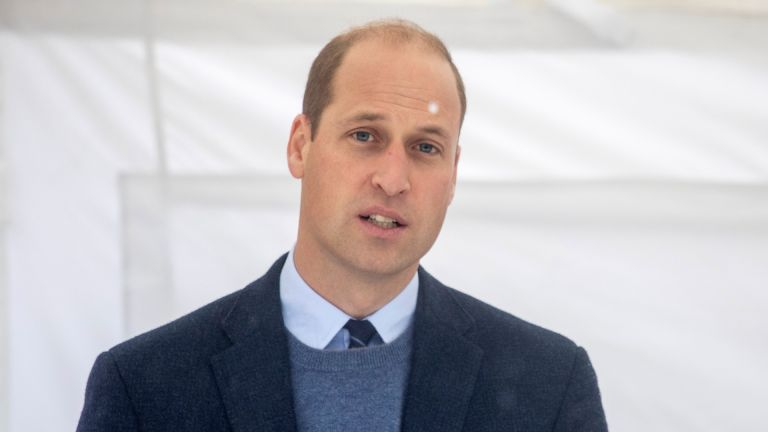 HRH Prince William the Duke of Cambridge, meets patients and staff and attends at a groundbreaking ceremony at The Royal Marsden in Surrey