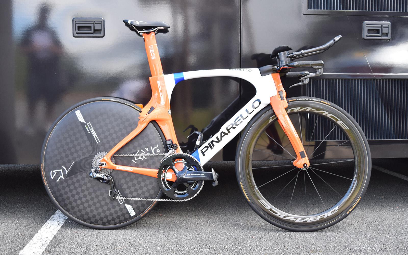 Dylan van Baarle's custom-painted Pinarello Bolide TT – Gallery | Cyclingnews