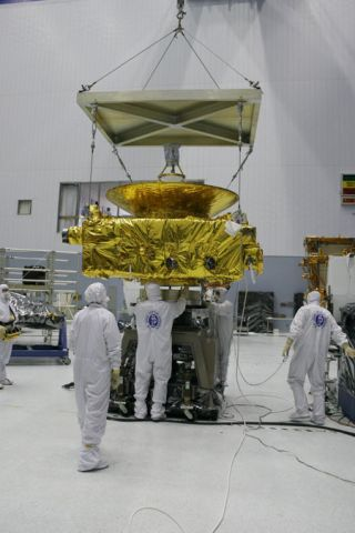 NASA's Pluto Probe Arrives at Spaceport
