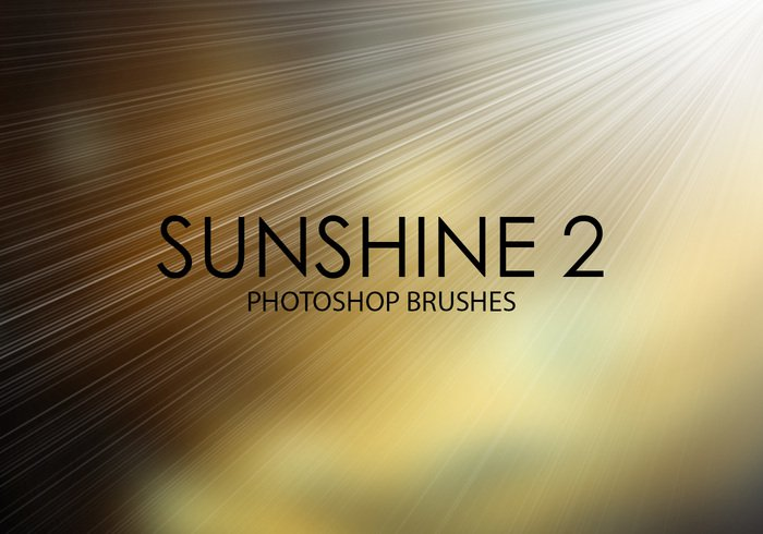 Photoshop brushes - sunshine