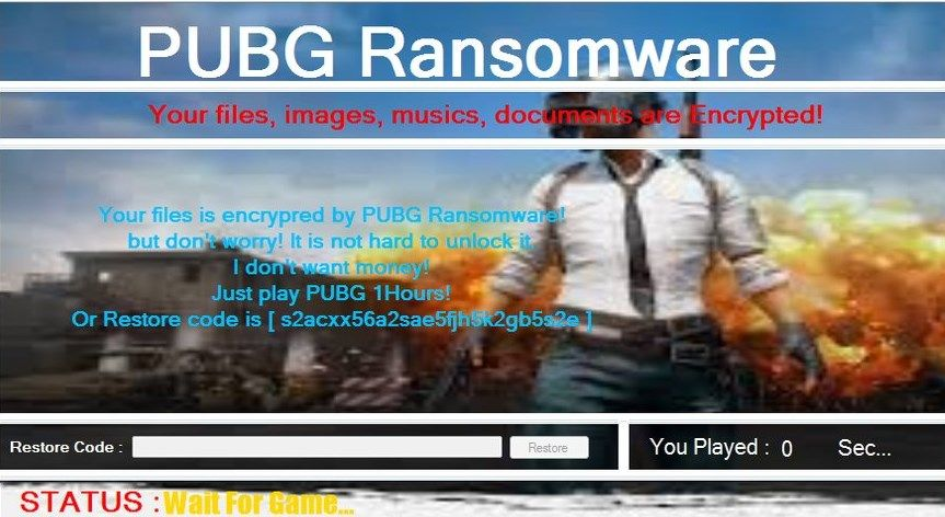 A new kind of ransomware forces you to play PUBG to unlock your