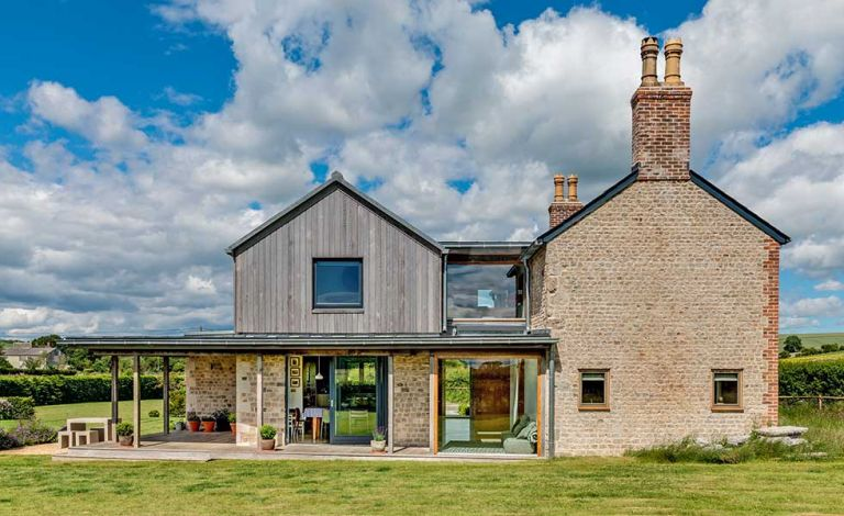 Extending for under £100,000: extension on a period cottage