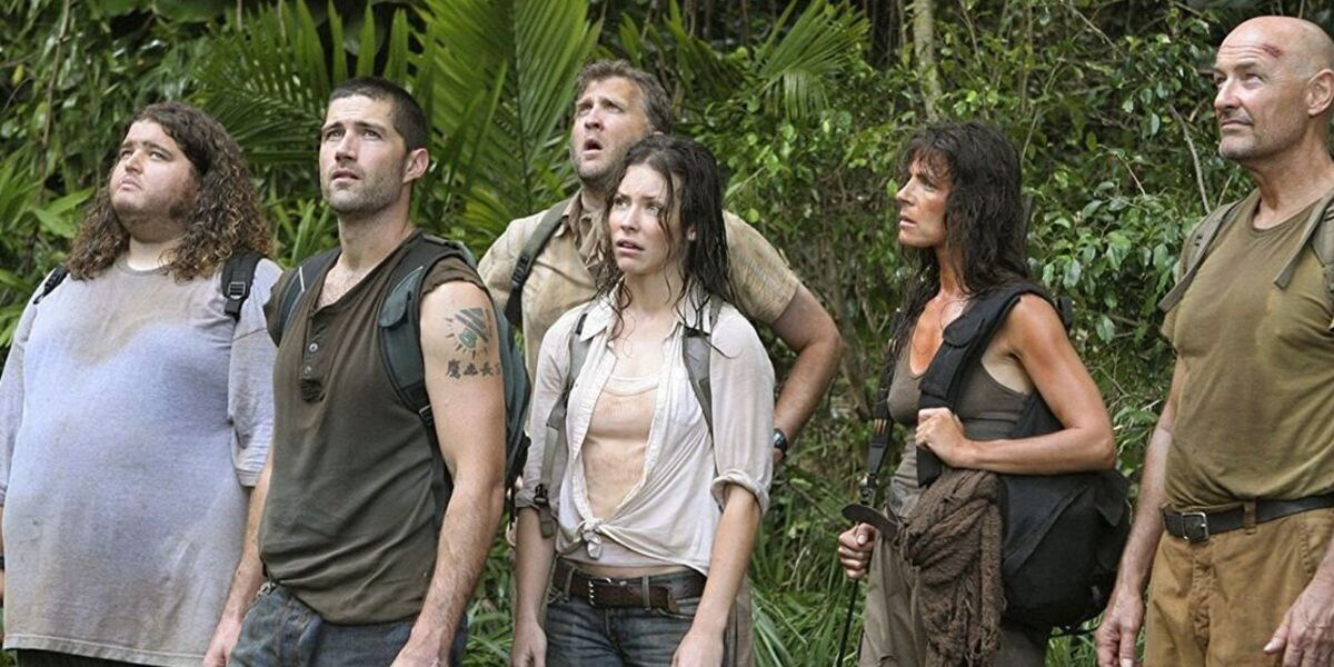 The cast of characters from Lost.
