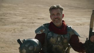 Timothy Olyphant as the Marshal in 'The Mandalorian.'