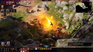 Baldur's Gate 3 spell being cast
