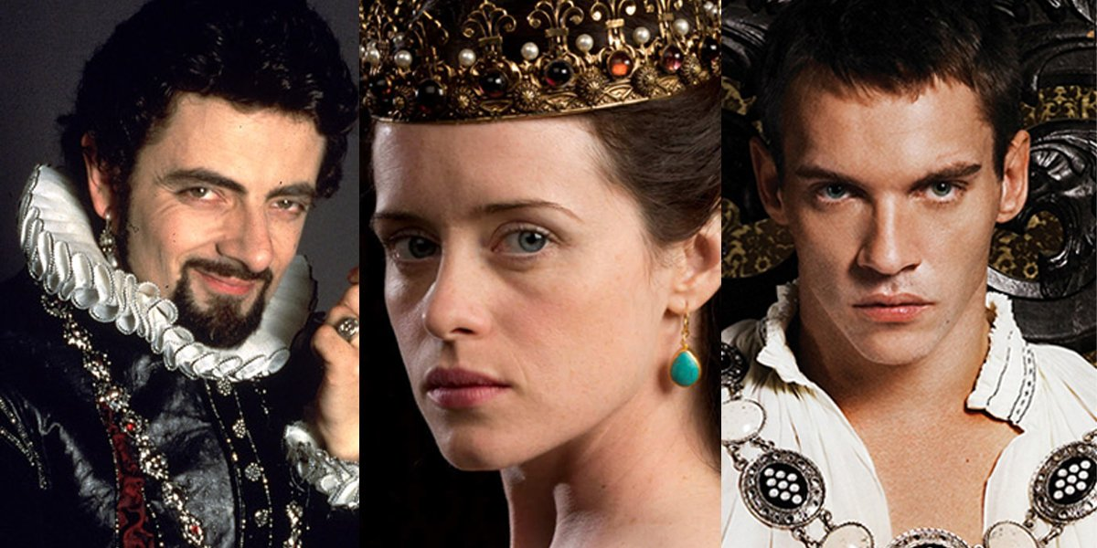 Blackadder Wolf Hall The Tudors BBC PBS Showtime