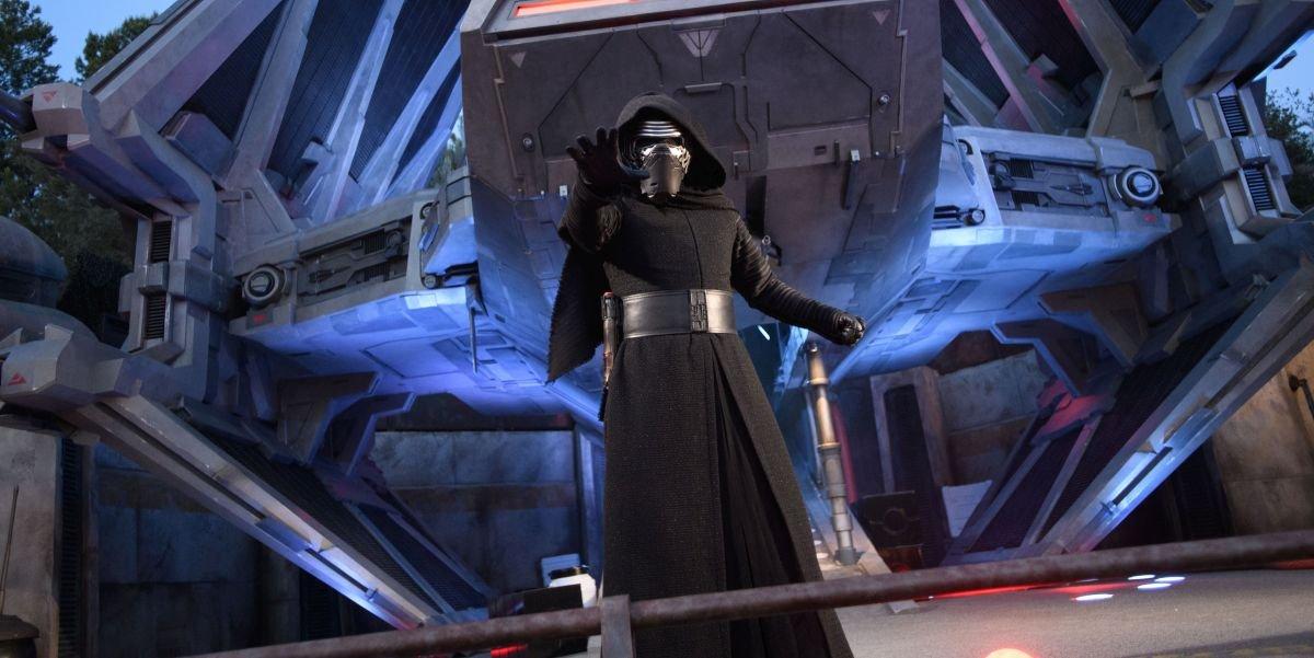 Kylo Ren At Star Wars Galaxy's Edge
