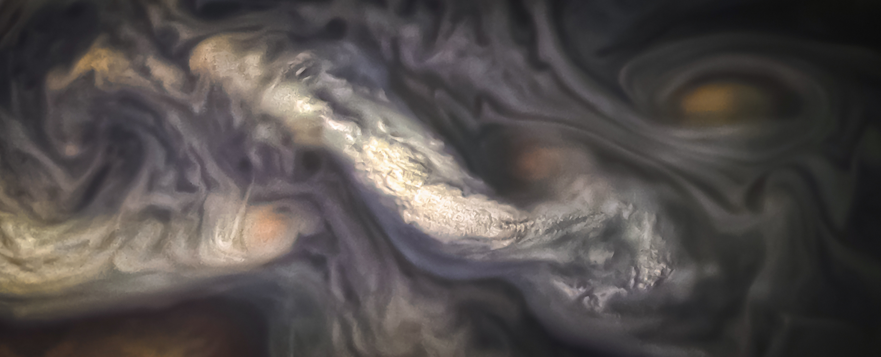 Jupiter's Breathtaking Cloud Formations on Display in New