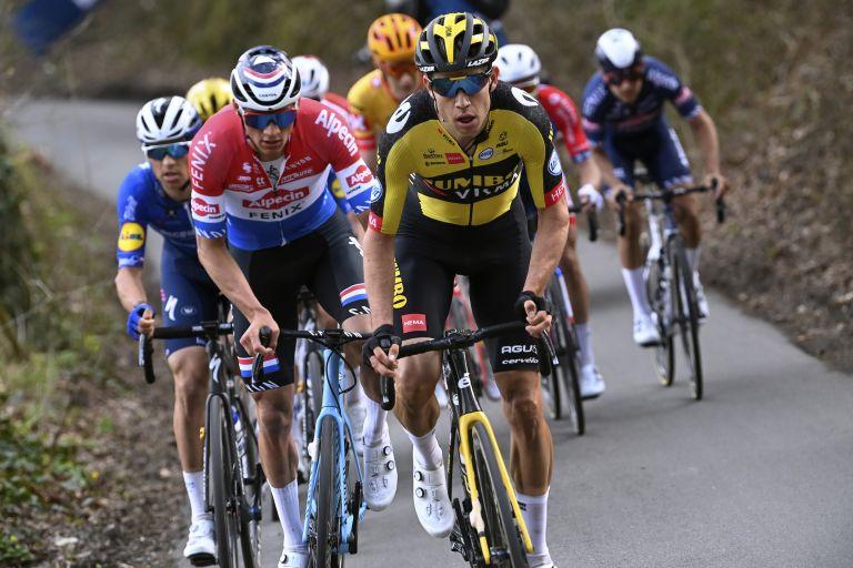 Mathieu van der Poel and Wout van Aert