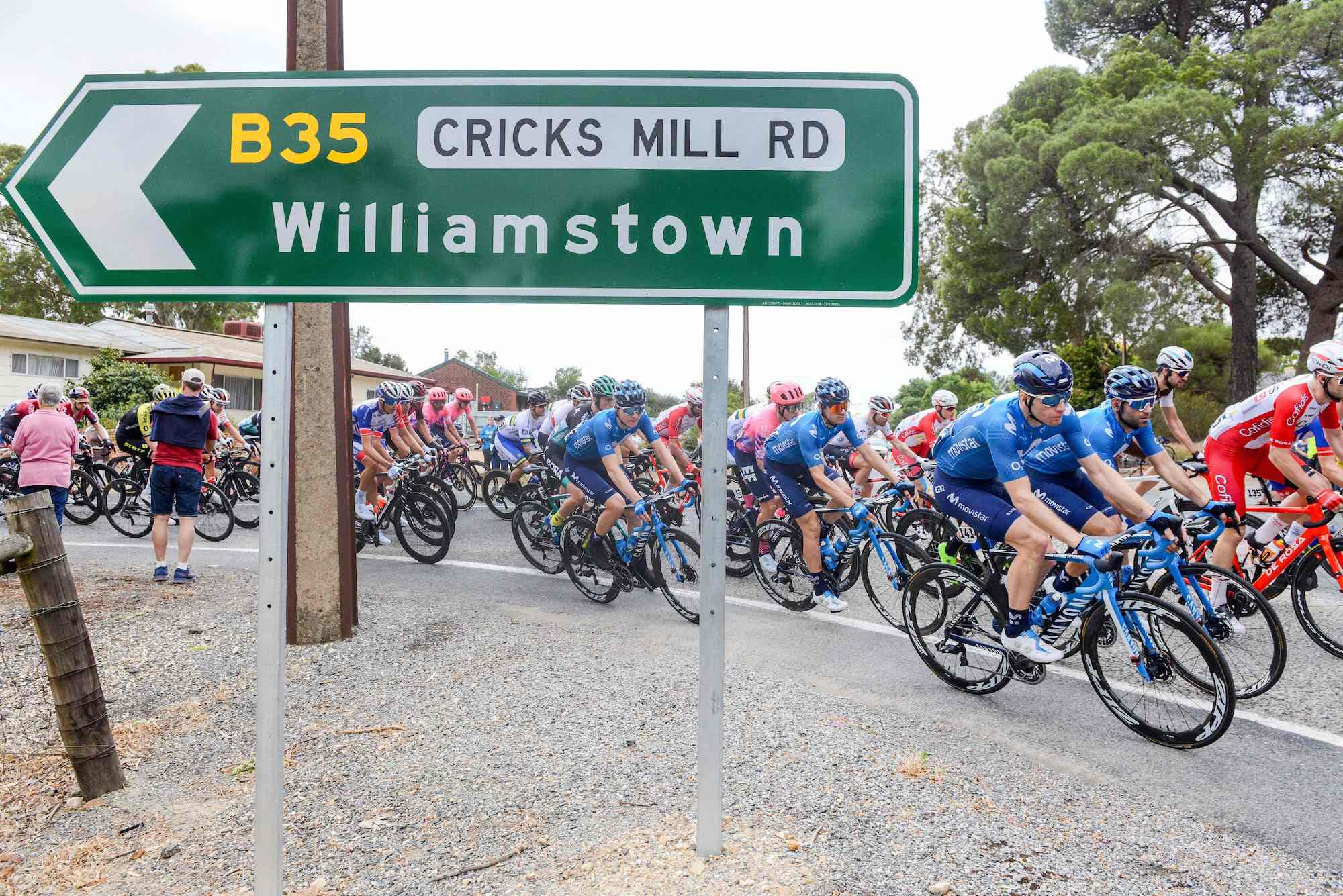 Watch: Tour Down Under 2020 stage four highlights