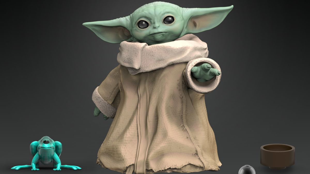 Hasbro's Baby Yoda toys have been revealed, and they're pretty cute