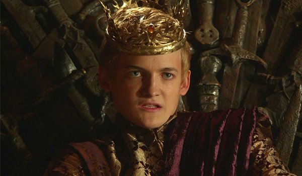 King Joffrey Baratheon sits on the Iron Throne, Game of Thrones